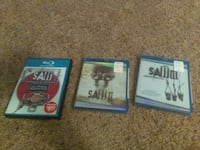 Saw 1-3 trilogy unopened Tipp City