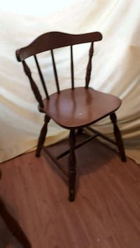 Maple wood chair