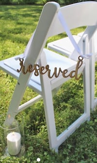 Reserved seating sign null