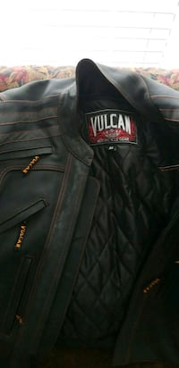 Vulcan leather motorcycle jacket  Waldorf, 20603