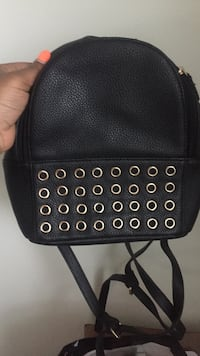 black and gray leather crossbody bag Dover, 19904