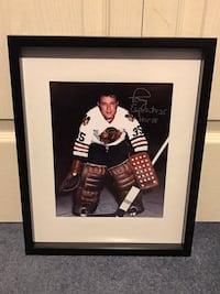 Chicago Blackhawks tony Esposito Signed and framed photo  Châteauguay, J6K 2M7