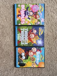 3 Teletubbie DVDs (brand new) Linthicum Heights, 21090