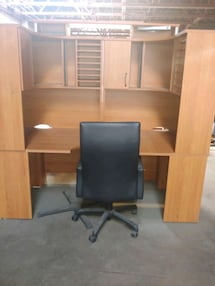 Deluxe office desk with chair
