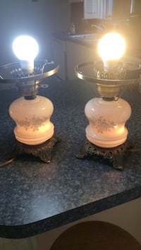 two brown ceramic table lamps Point Pleasant, 08742