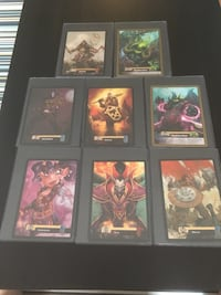 World of Warcraft Over Size Trading cards lot of 8. Mississauga, L5N
