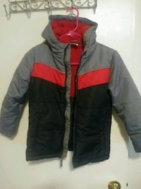 black and red zip-up jacket Fresno, 93706