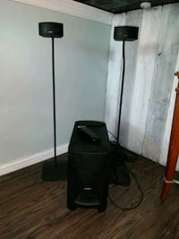 black and gray floor lamp Independence, 41051