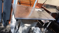 rectangular brown wooden table with four chairs dining set Alexandria, 22312