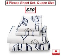 AJ- BRAND NEW- Luxury 4 Piece Sheet Set Mississauga