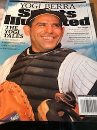Yogi Berra commutative sports illustrated and newsday pull out Holbrook, 11779