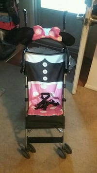 New cosco minnie mouse stroller. Used 1x Lake City, 16423