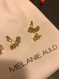 Melanie Auld ear jacket gold earrings Toronto, M4P 1R2
