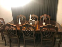 8 seat dining table Inverness, 34452