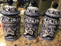 Artisan crafted Talavera containers Boerne, 78006