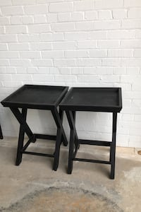 Black Side Tables set of 2 Bowmanville, L1C 1W3