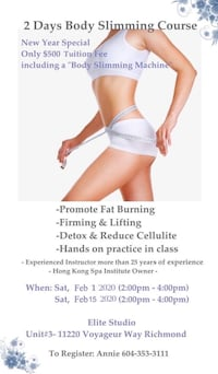 body slimming course Vancouver