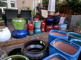 10/5 - Thousands of Pots Need to Go - Riverside Pottery Sale