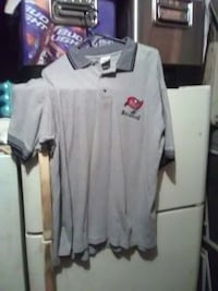 Tampa Bay buccaneers grey polo shirt size XL Clearwater, 33760