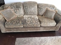 3 Piece Sofa, Love Seat, Chair - need gone ASAP Mississauga, L5M