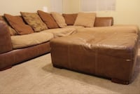 Brown fabric sectional needs to be gone today 80 obo  Las Vegas, 89149