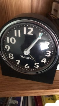 Westclox alarm clock made in USA Vintage  Mississauga, L5J