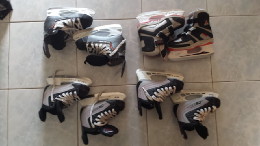 skates\helmets for 15-25$ each great condition and good brands 0c30f5f2-303c-45f8-a791-7eec5079a6e2