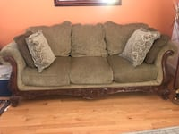 brown fabric 3-seat sofa Washington, 20002