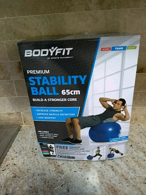 console game stability ball made by bodyfit