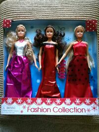 New in box 3 Holiday barbies barby Pleasanton, 94566