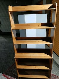 Solid wood bookcases  Toronto, M1G 1P4