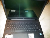 black and gray HP laptop 1891 mi
