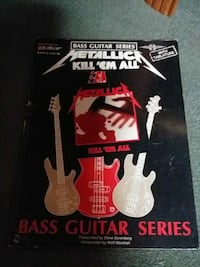Metallica bass tab song book