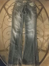 black and gray denim jeans Sandy, 84070