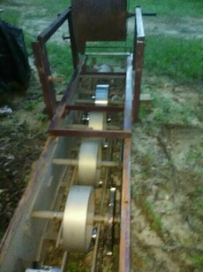 Gutter former in excellent working condition