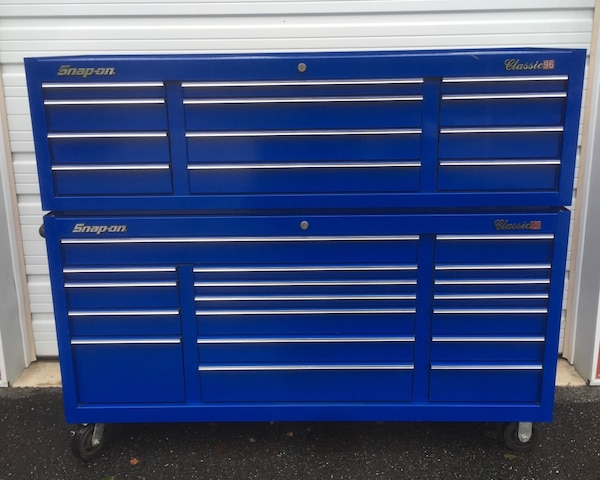 Fantastic Snap On Classic 96 Tool Box And Upper Cabinet No Liens Uwap Interior Chair Design Uwaporg