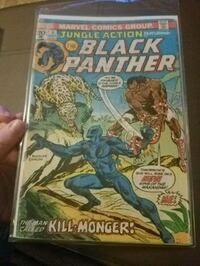 Jungle Action 6. Black Panther. 1st Kill-Monger.  Knoxville, 37923