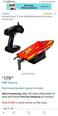 Recoil 17 deep v rc boat Knoxville, 37922