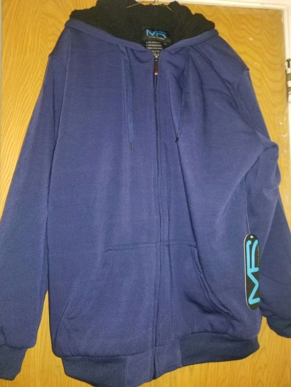 Mack Russo full zip fleece hoodie 827b2f87-5529-4ff4-8262-c5955f2638d8