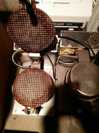 Waffle maker used commercial