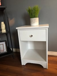 White side table  London