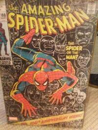 Marvel The Amazing Spider-Man comic book Vancouver, V6B 1R3