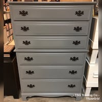 Gray chest of drawers  Concord, 28027