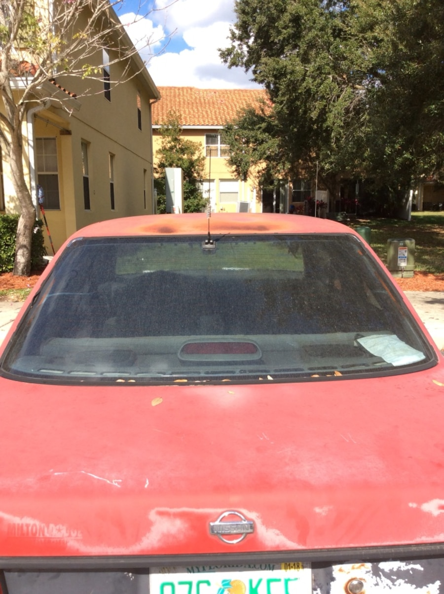Used Red Nissan Sentra In Kissimmee