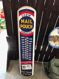Mail Pouch Thermometer METAMORA