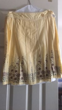 Yellow Floral Skirt Silver Spring, 20910
