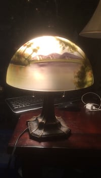 black and gray table lamp Edmonton, T5T 1R7