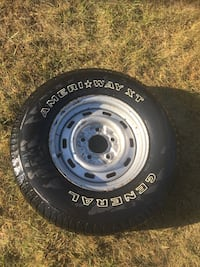 Ford 5 bolt spare tire Winfield, 49329
