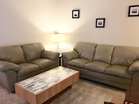 Leather couch and love seat Cockeysville, 21030