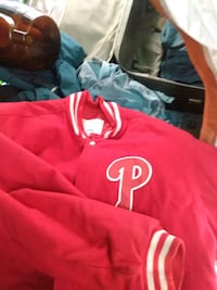 Official American baseball league letterman jacket Phillies